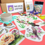 Desert Spring Local Loot Box Stickers Soap Seeds Charm